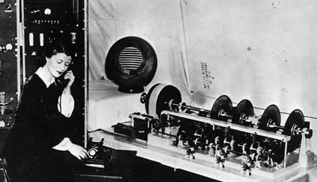 Jane cain the first voice of the speaking clock in 1936 sitting at the speaking clock equipment 136407479762203901 160721123021.jpg?ixlib=rails 1.1