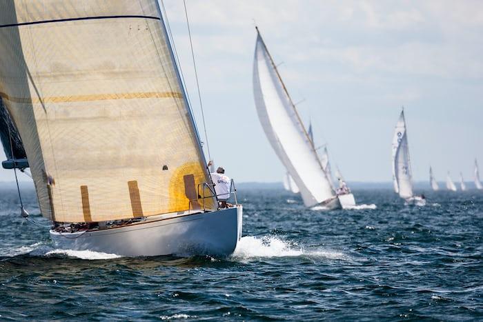 Valiant 12 meter yacht Panerai