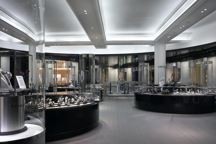 harrods watch room