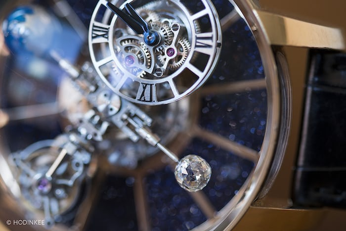 Astronomia Tourbillon closeup
