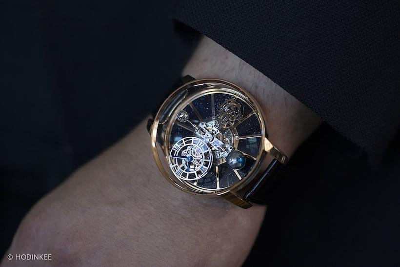 Astronomia Tourbillon wrist shot