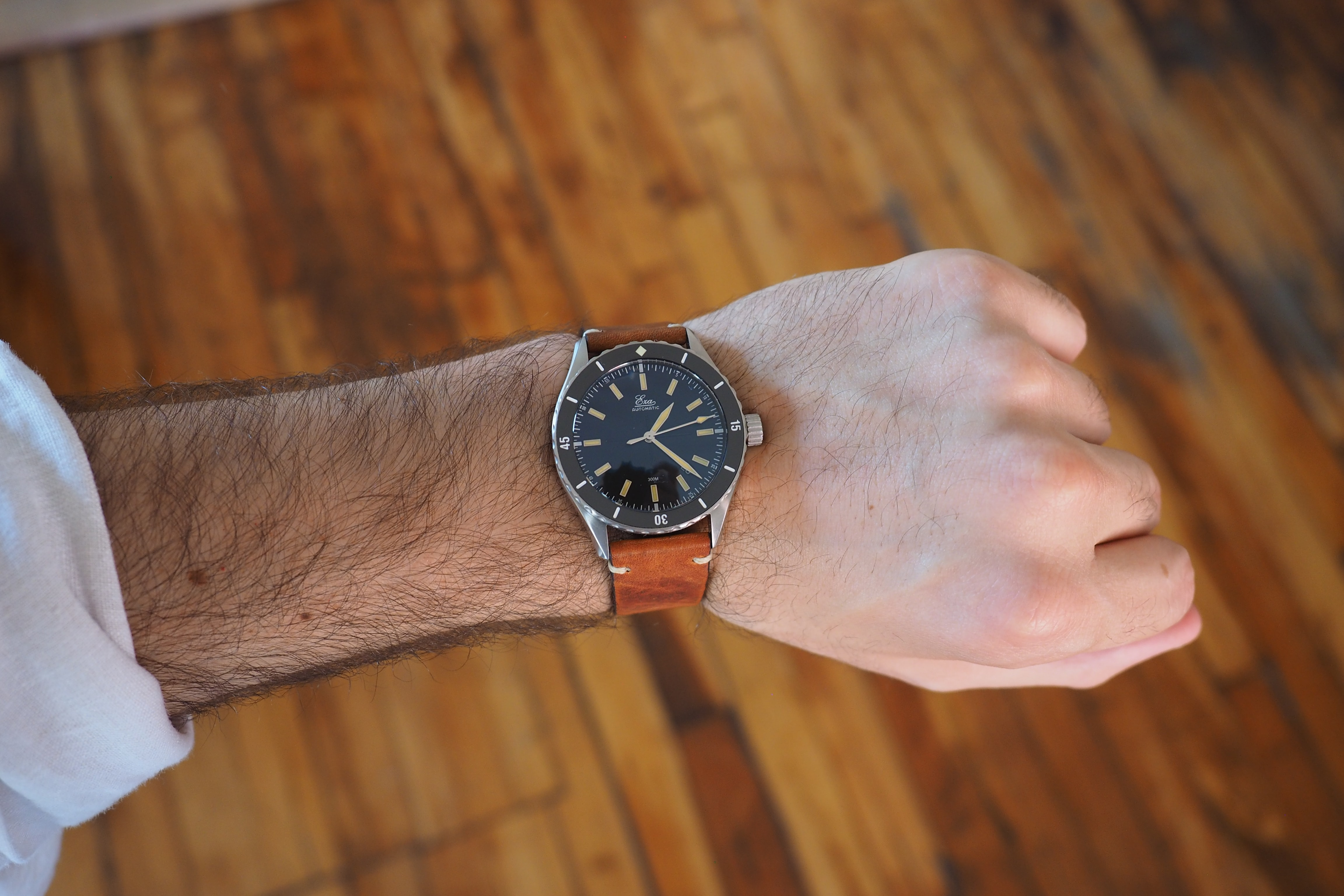 sealander eza watch wristshot