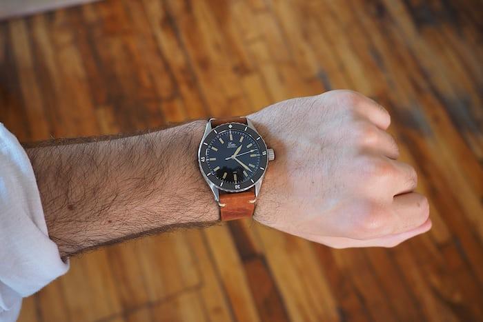 sealander eza watch wristshot