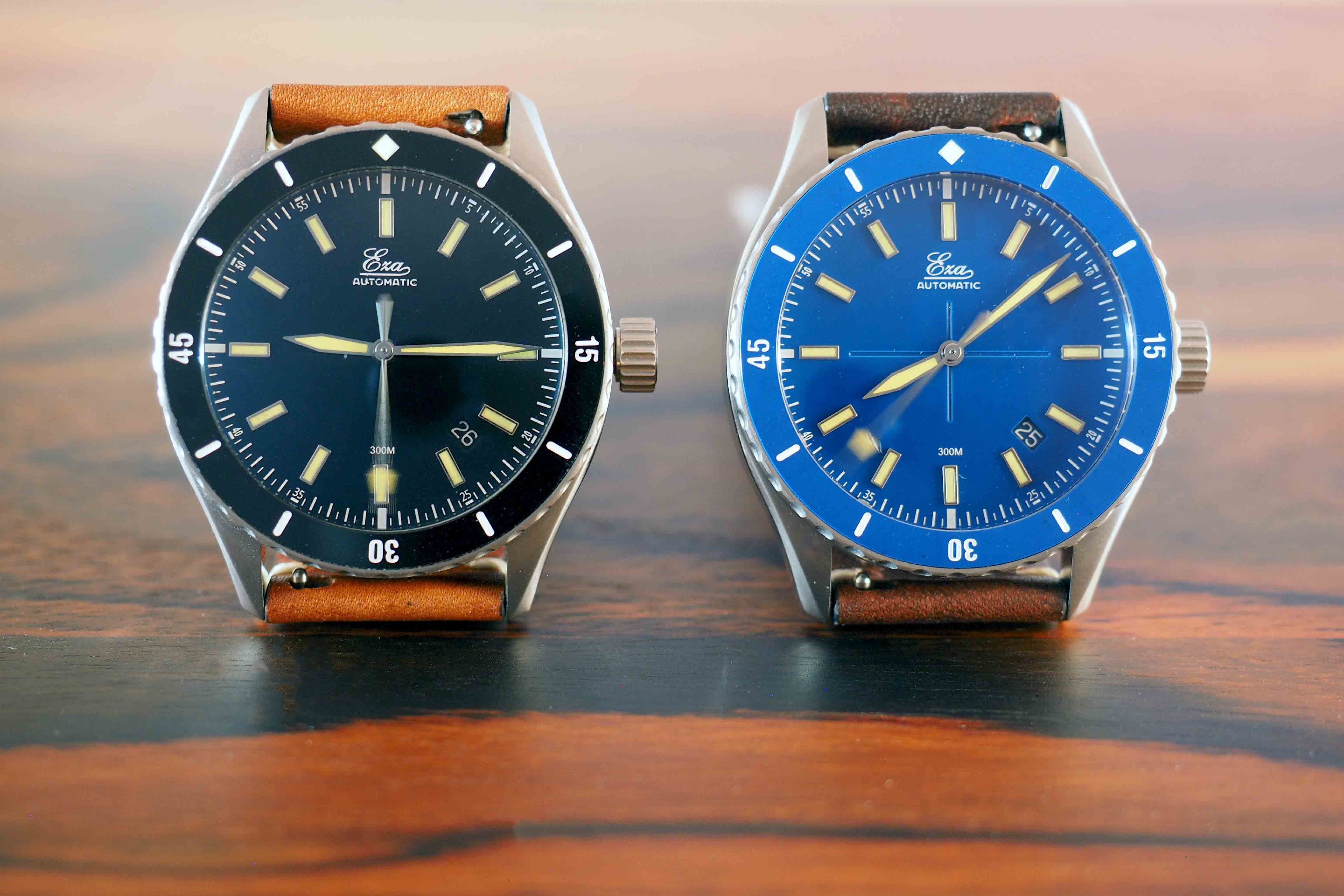 eza watch sealander blue
