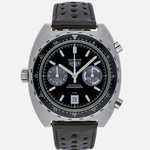 1980s Heuer Automatic Autavia Reference 11063