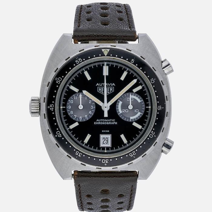 1980s Heuer Automatic Autavia Reference 11063