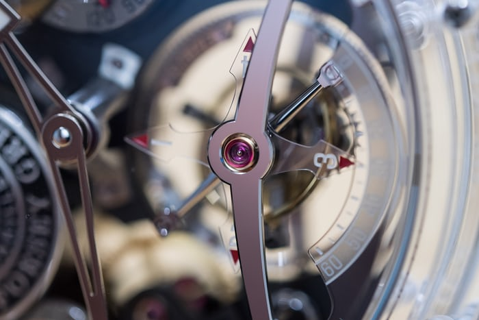 Greubel Forsey tourbillon bridge