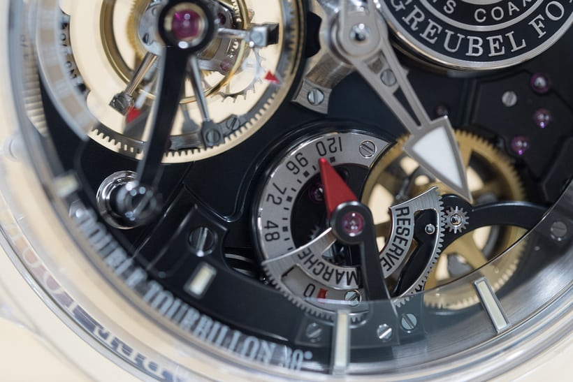 Greubel Forsey Double Tourbillon 30° Technique