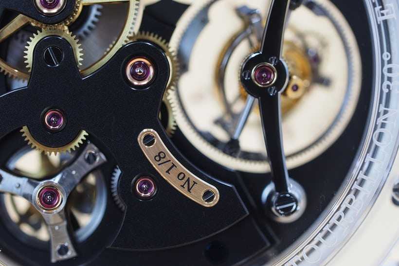 Greubel ForseyDouble Tourbillon 30° Technique