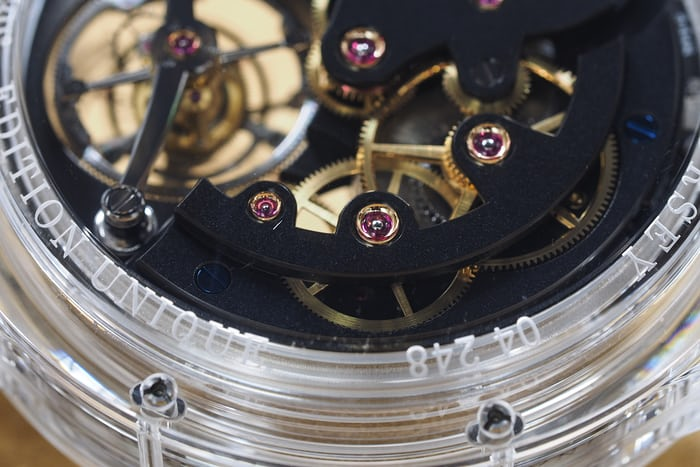 greubel forsey finishing