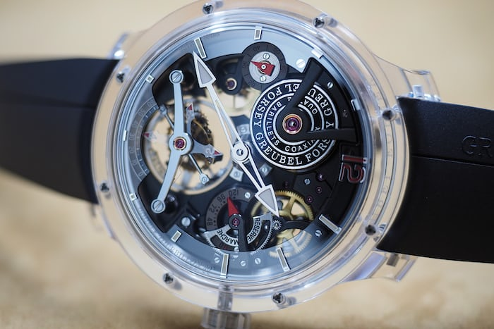 Double Tourbillon 30° Technique Sapphire