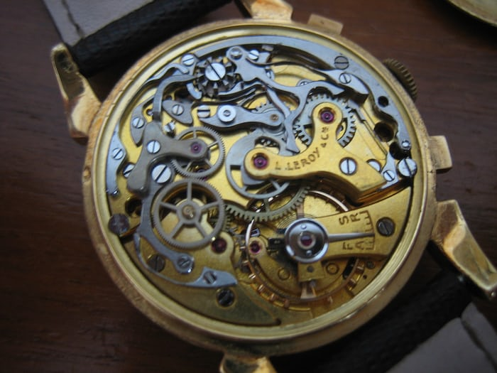 Leroy& Cie Chronograph movement