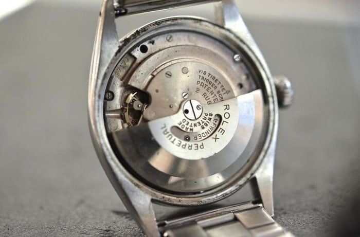 Rolex movement A296