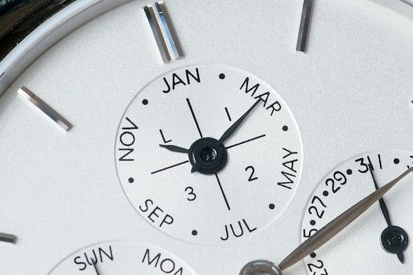 Slimline Manufacture Perpetual Calendar