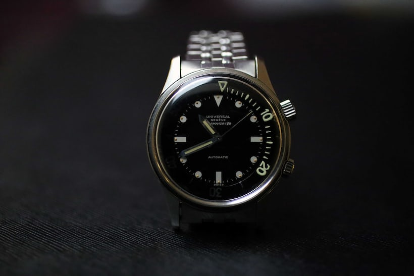 Universal Genève Polerouter Sub Reference 20369-1