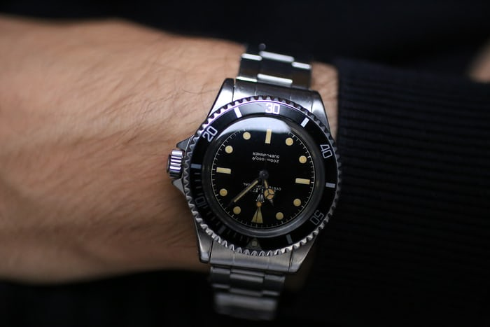 On The Wrist Rolex Oyster Perpetual Submariner
