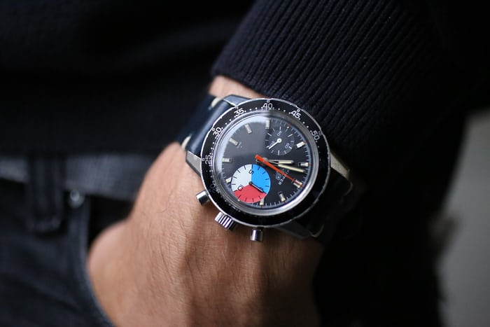 On The Wrist Heuer Skipper Reference 7764