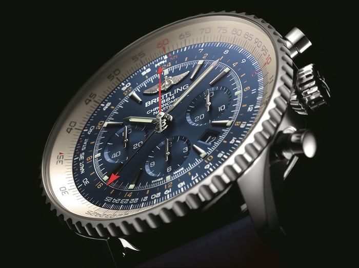 Blue seems to be Breitling go-to colour for limited editions.