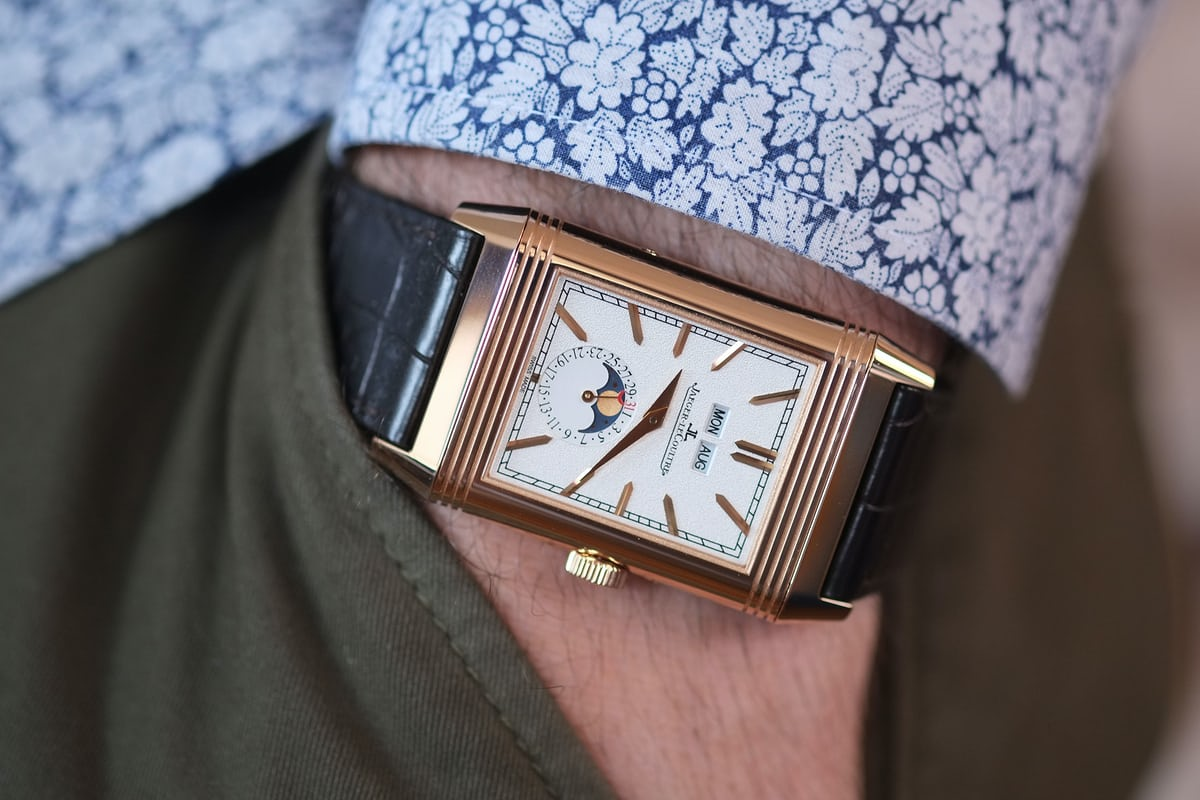 d4a3dd8672b A Week On The Wrist  The Jaeger-LeCoultre Reverso Tribute Calendar ...