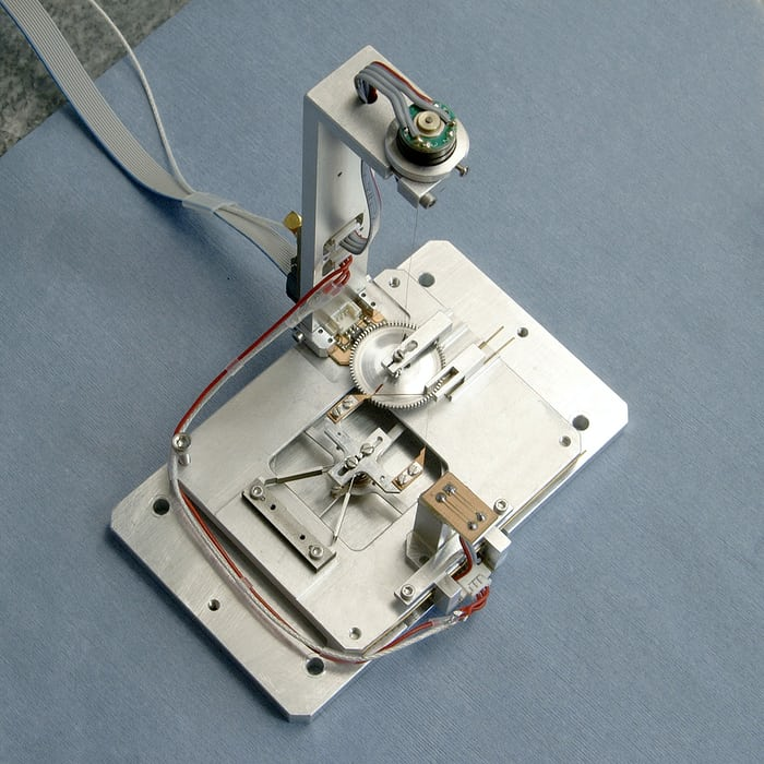 CSEM Genequand escapement metal model