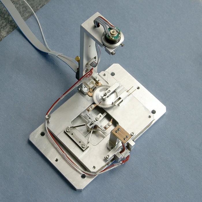CSEM Genequand escapement metal model