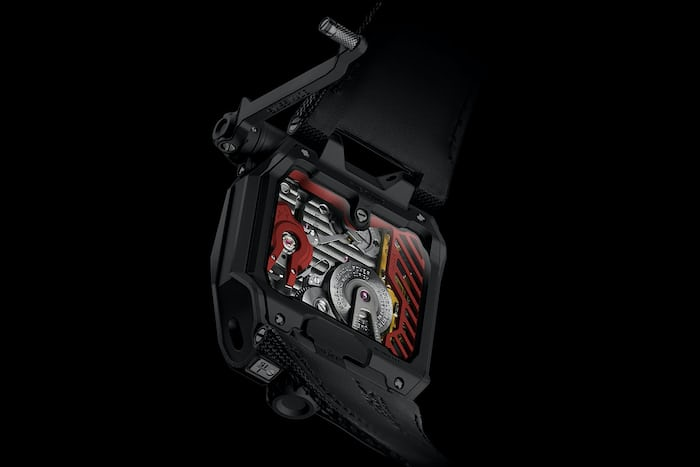 UR-EMC urwerk movement