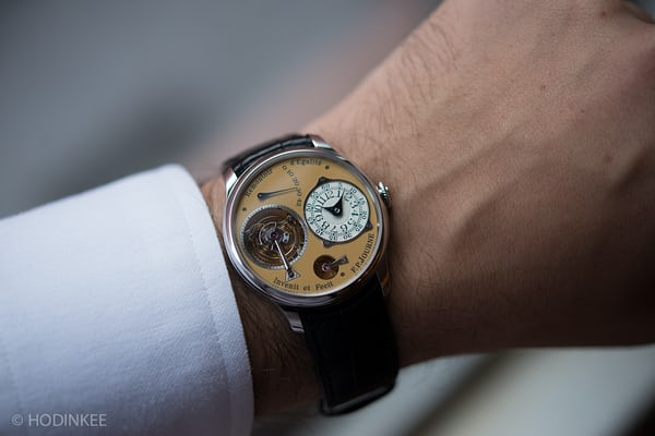 steel fp journe tourbillon