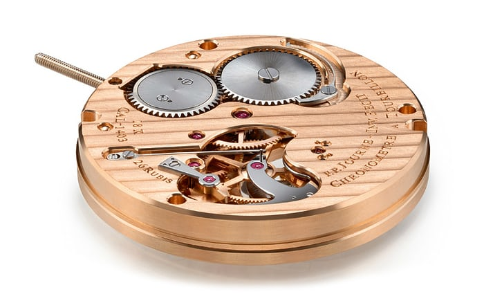 rose gold fp journe movement