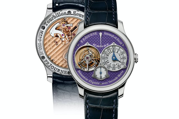 Tourbillon Souverain Action Innocence