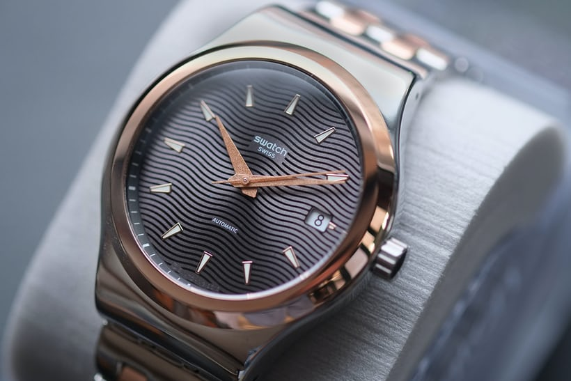 sistem51 irony two-tone steel