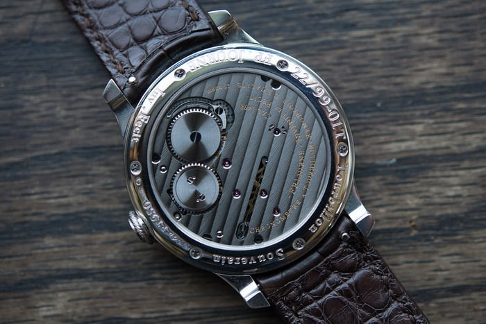 fp journe ruthenium edition tourbillon