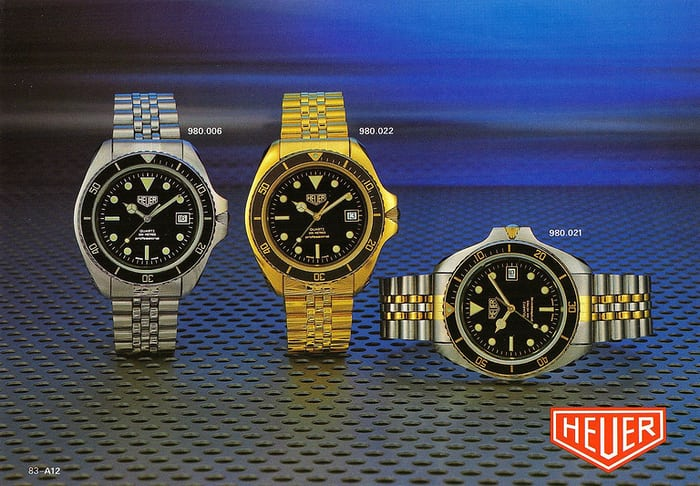 Heuer Quartz Divers