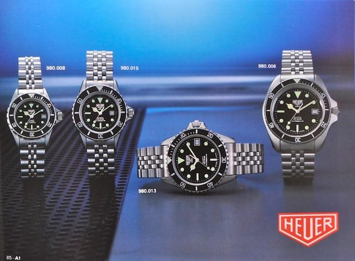 Heuer 1000 Divers