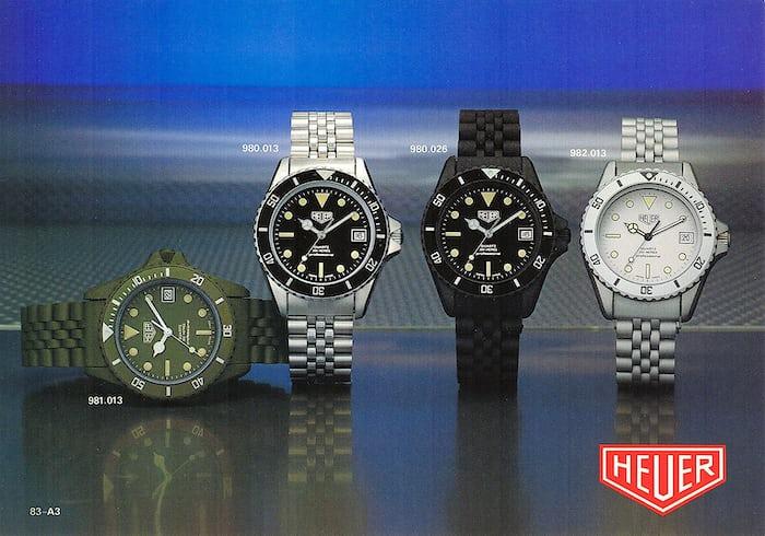 Heuer Diver 38mm