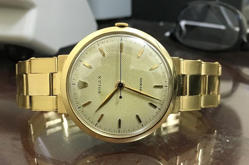 Rolex Precision 9083 Gold