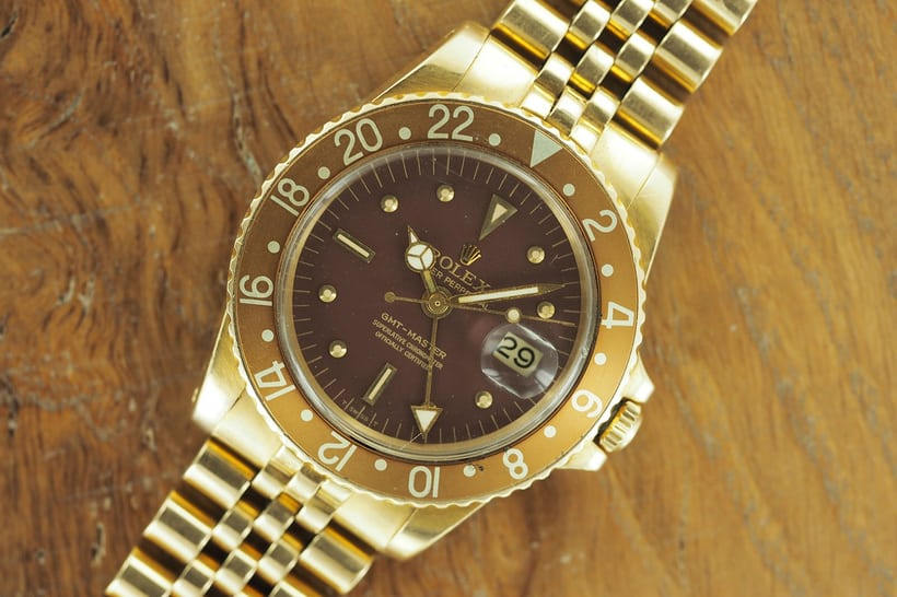 Rolex 1675 Yellow Gold