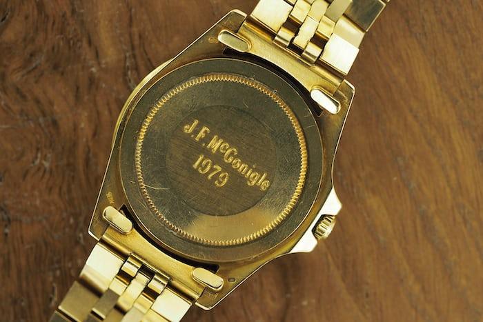 Rolex 1675 Sharp lugs