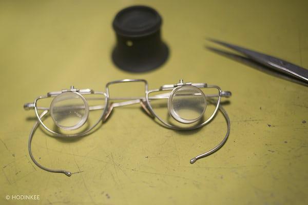 george daniels glasses workbench