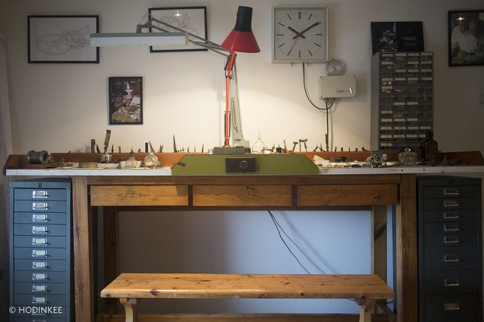 george daniels workbench