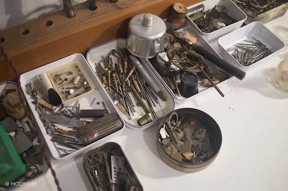 george daniels watchmaking tools