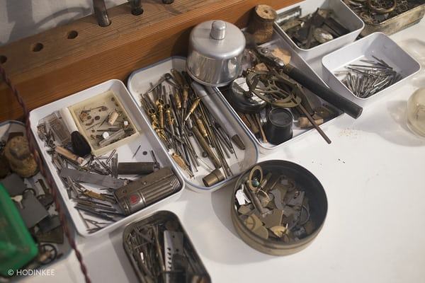 george daniels watchmaking tools