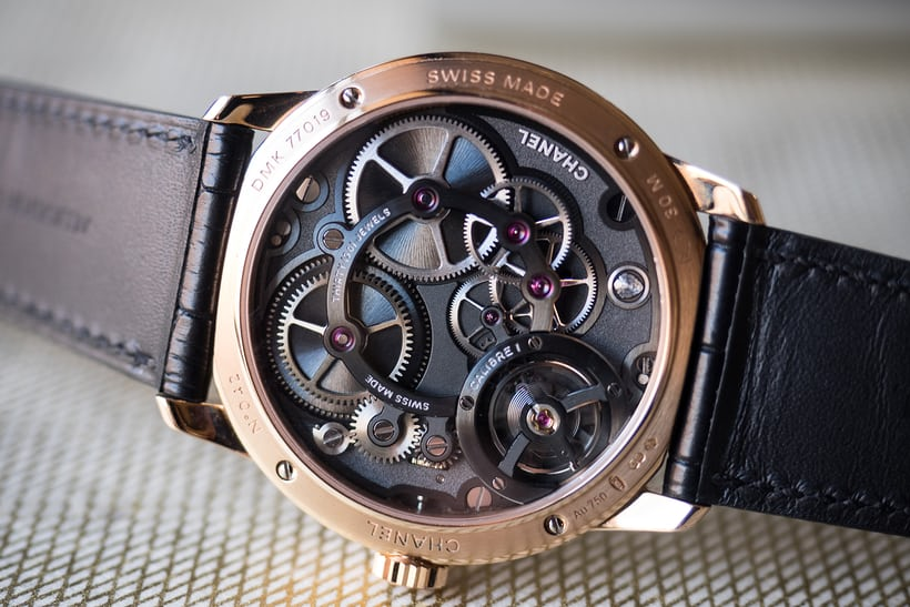 chanel caliber 1 movement