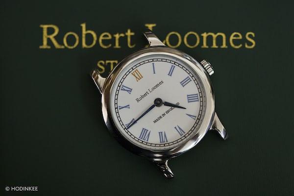 Robert Loomes enamel dial