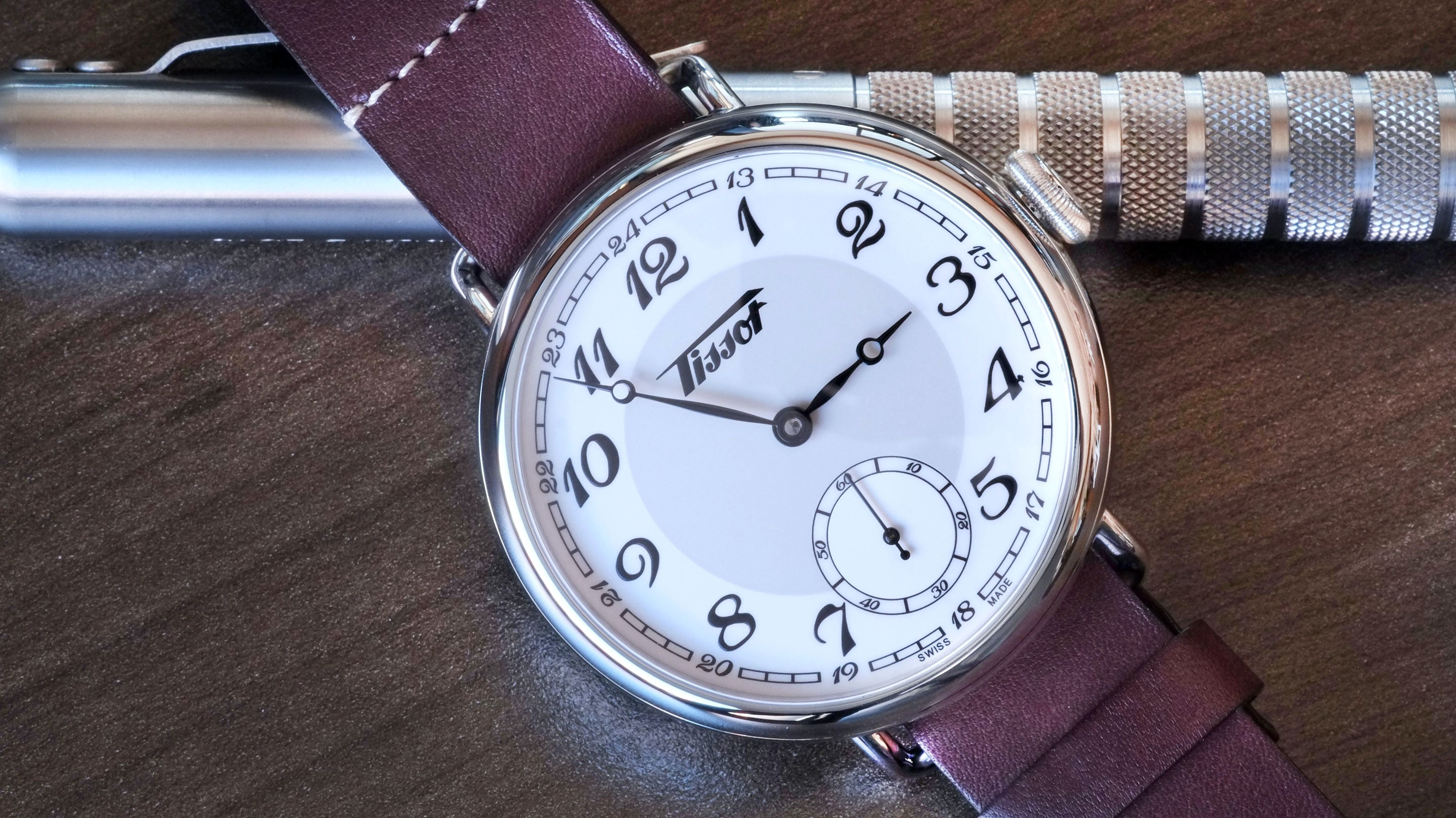 hands on the tissot heritage 1936 a big watch that presents loads