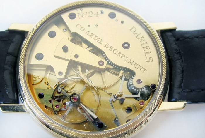 daniels co-axial anniversary watch