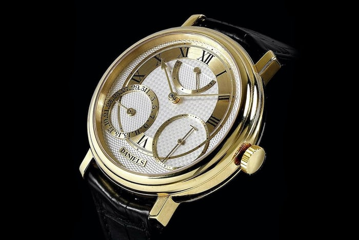 george daniels anniversary watch