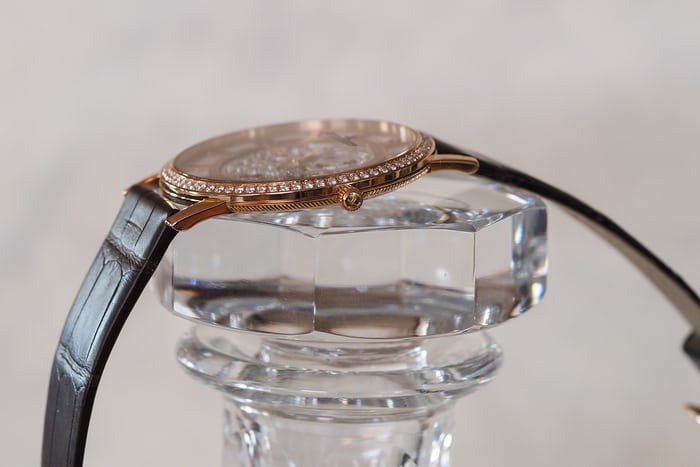 Jaeger-LeCoultre Master Ultra Thin Squelette profile
