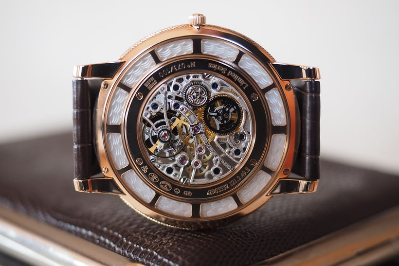 Jaeger-LeCoultre Master Ultra Thin Squelette movement
