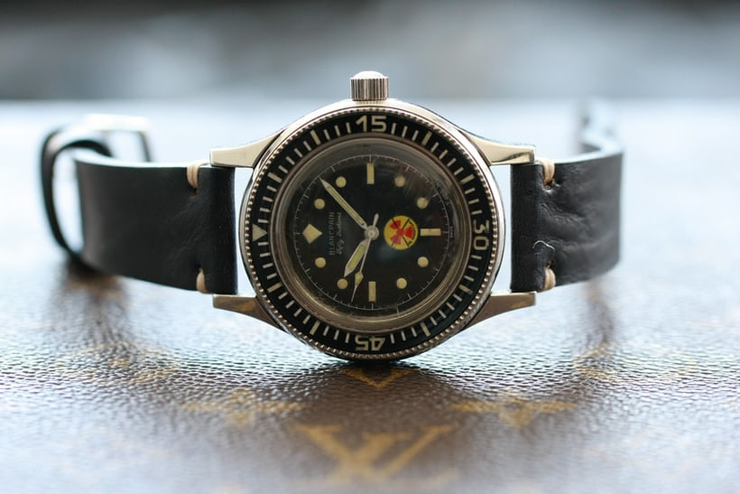 Blancpain Bundeswehr Fifty Fathoms, With Military Documents