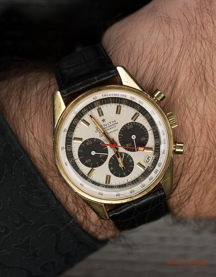Zenith El Primero Reference G381 wristshot